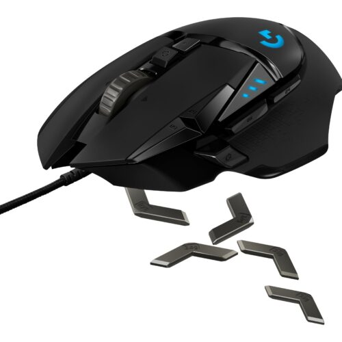 Logitech MOUSE G502 SE HERO Gaming Mouse BLACK AND WHITE R2 910-005729