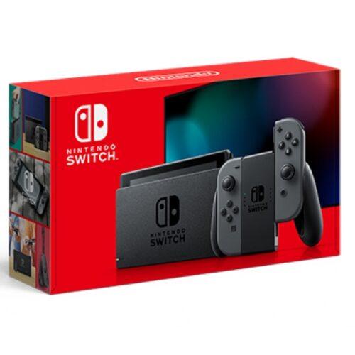 Nintendo Switch Grau Modell 2019 10002199