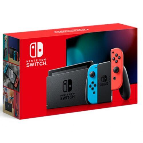 Nintendo Switch Neon-Rot