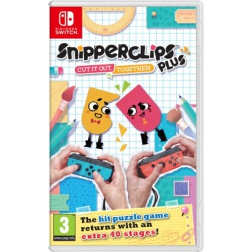 Nintendo Switch Snipperclips Plus 2521940
