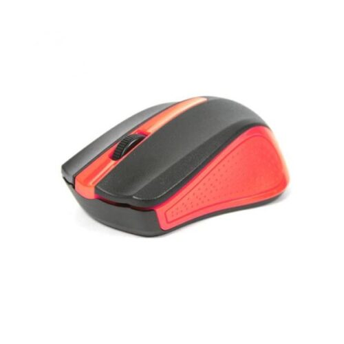 Omega Ενσύρματο Ποντίκι μαύρο/κόκκινο OM05R