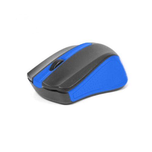 Omega Ενσύρματο Ποντίκι μαύρο/μπλε OM05BL