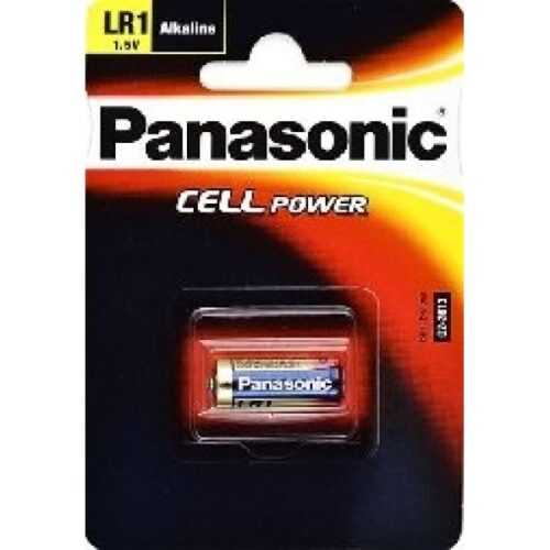 Panasonic Batterie Alkaline LR1 N LADY 1.5V Blister (1-Pack) LR1L