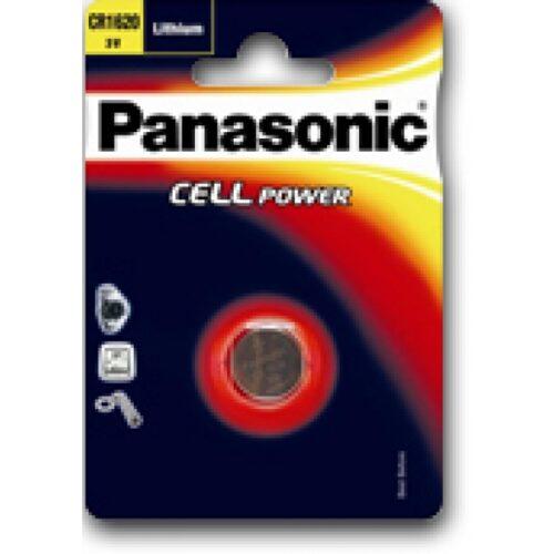 Panasonic Batterie Lithium CR2025 3V Blister (1-Pack) CR-2025EL