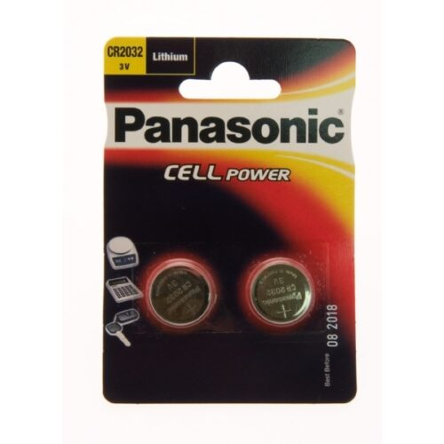 Panasonic Batterie Lithium CR2032 3V Blister (1-Pack) CR-2032EL