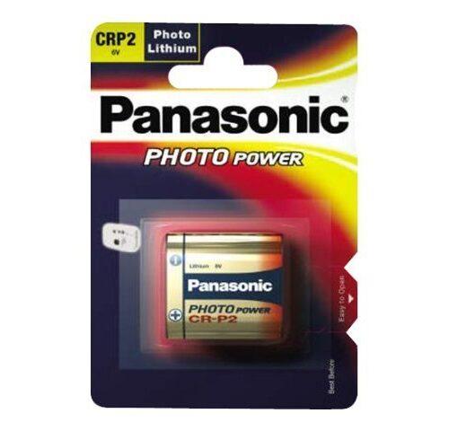 Panasonic Batterie Lithium Photo CRP2 3V Blister (1-Pack) CR-P2L