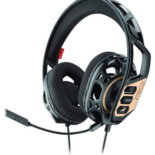 Plantronics RIG 300 Stereo Gaming Headset, Black