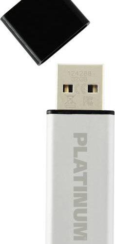 Platinum USB Flash Drive 64GB Alu 2.0
