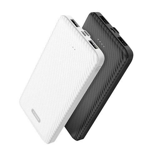 Powerbank 20000 mAh White USB Micro