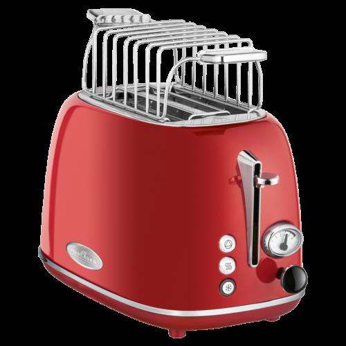 ProfiCook 2 Slice-Toaster Vintage PC-TA 1193 (Red)