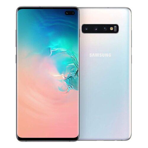 Samsung SM-G975F Galaxy S10+ Dual Sim 128GB prism white DE - SM-G975FZWDDBT