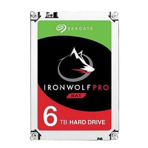 Seagate HDD IronWolf Pro NAS 6TB Sata III 256MB D ST6000NE000