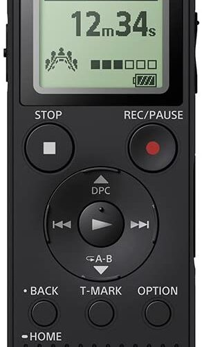 Sony Digital Voice & Telephone Recorder built-in USB port SD Card - ICDPX470.CE7