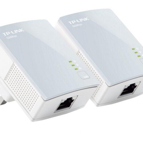 TP-Link AV500 Nano Powerline Adapter Starter Kit Bridge TL-PA411 KIT