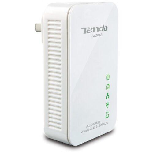 Tenda Powerline N300-WLAN-Powerline-Extender PW201A