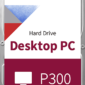 Toshiba HD 3.5 P300 DT02ACA200 2TB Red  HDWD220UZSVA