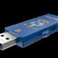 USB FlashDrive 32GB EMTEC M730 (Harry Potter Ravenclaw - Blue) USB 2.0