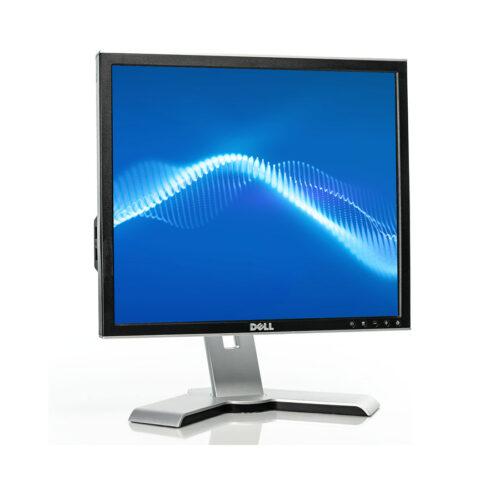 "Used Monitor 1907FP TFT/DELL/19""/1280x1024/Silver/Black/VGA& DVI-D & USB Hub"