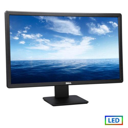 """Used Monitor (A-) E2414Hx LED/Dell/24""""/1920x1080/wide/Black/D-SUB & DVI-D"""