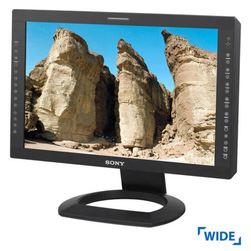 "Used Monitor LMD-2451W TFT/Sony/24""/1920x1200/Wide/Black/VGA & DVI-D"