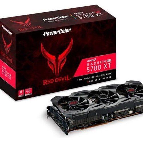 VGA PowerColor Radeon Red Devil RX 5700XT 8GB GDDR6 | PowerColor - AXRX 5700XT 8GBD6-3DHE