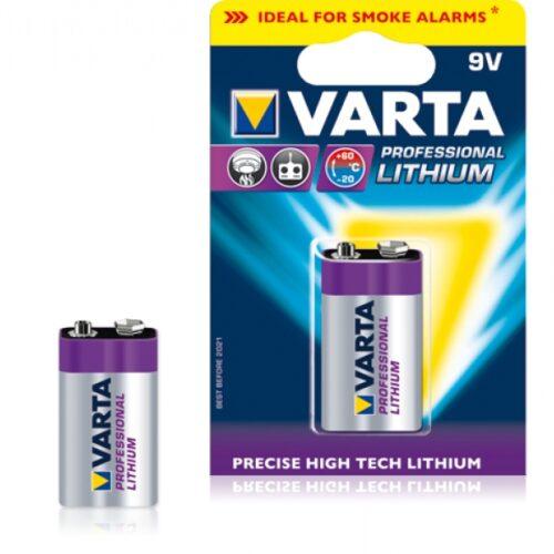 Varta Batterie Lithium E-Block 6FR61 9V Blister (1-Pack) 06122 301 401