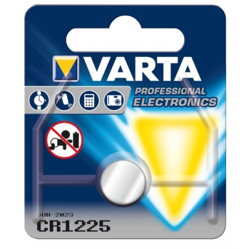 Varta Batterie Lithium Knopfzelle CR1225 Blister (1-Pack) 06225 101 401