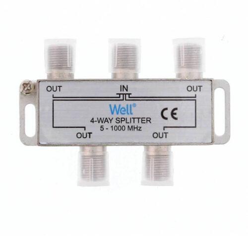 Διακλαδωτής 1 Προς 4 CATV 4 (1.000hz) SPLT-FC/4-WL