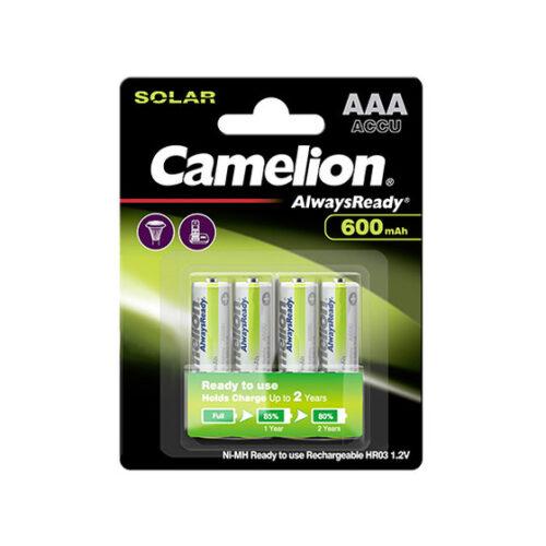 Akku Camelion AAA Micro Always Ready 600mA (4 pcs.)