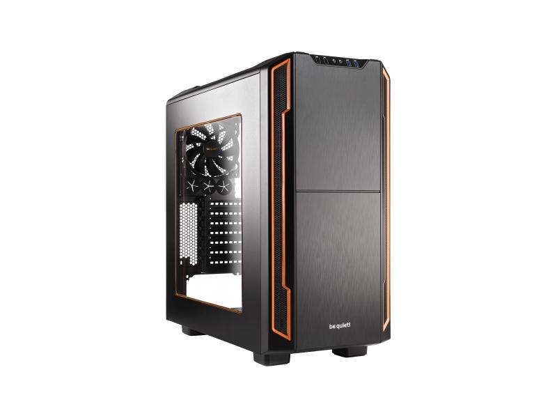 BeQuiet  PC- Gehäuse Silent Base 600 mit Fenster Orange BGW05