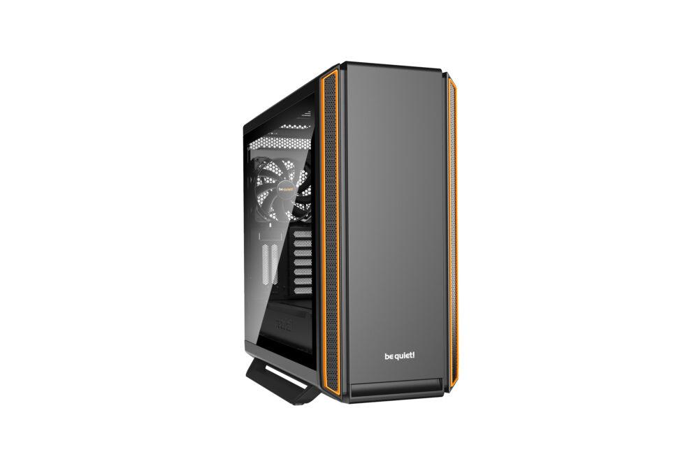 BeQuiet PC- Gehäuse Silent Base 801 mit Fenster Orange BGW28