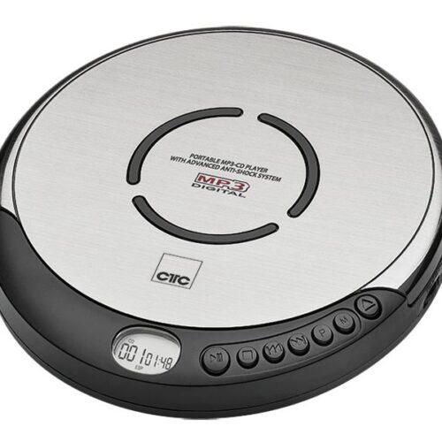 CTC Portable CD-Player CDP 7001 Black