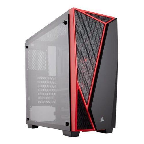 Case Corsair Carbide Spec04 Tempered Glass Black & Red CC-9011117-WW