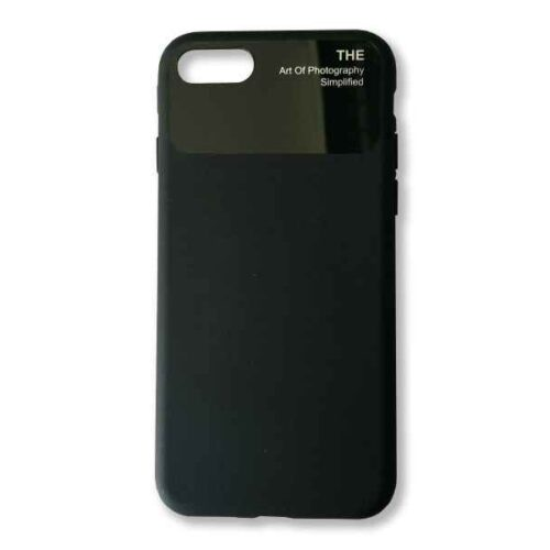 Case for iPhone 7+8 Silicone (Black)