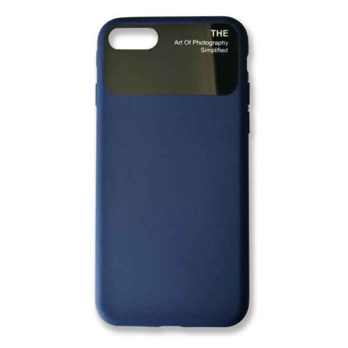 Case for iPhone 7+8 Silicone (Blue)
