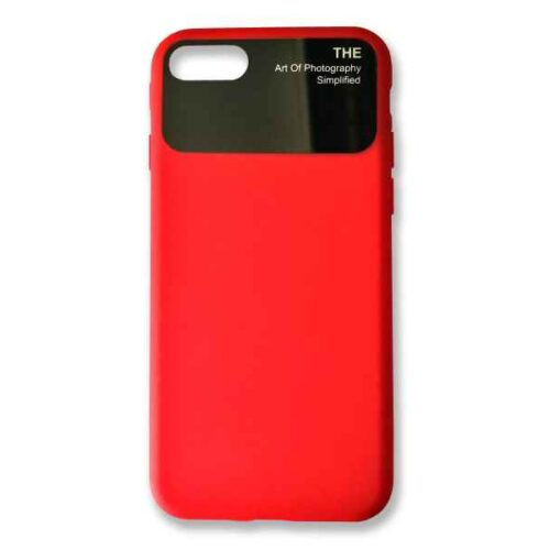 Case for iPhone 7+8 Silicone (Red)