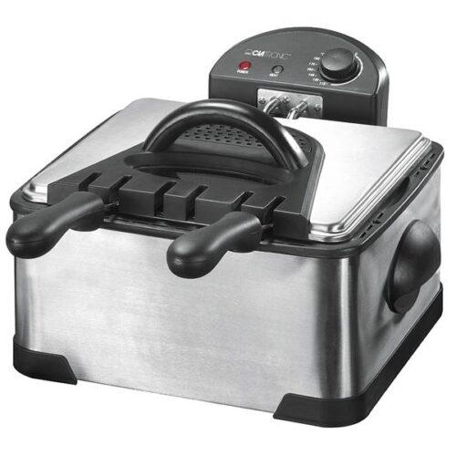 Clatronic Double deep fat fryer FR 3195 Inox