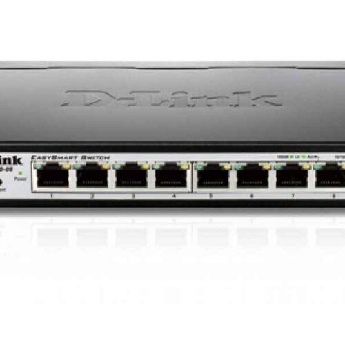 D-Link Switch EasySmart 8-port 10