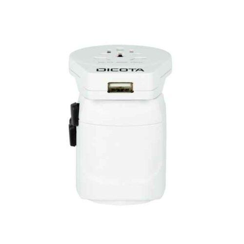 Dicota World Adapter PRO&USB Reiseadapter D31282