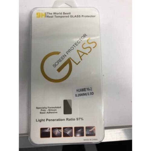 Display Glass 9H for Huawei Y6 II (0,26mm