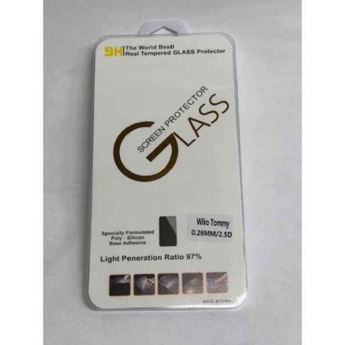 Display Glass 9H for Wiko Tommy (0,26mm