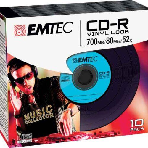 EMTEC CD-R Vinyl Look 700MB