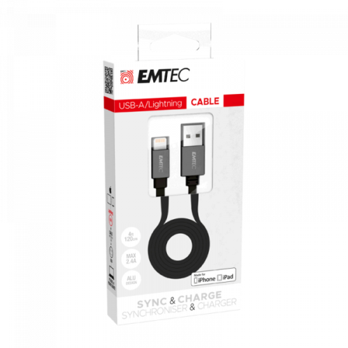 EMTEC T700 Cable USB-A to Lightning