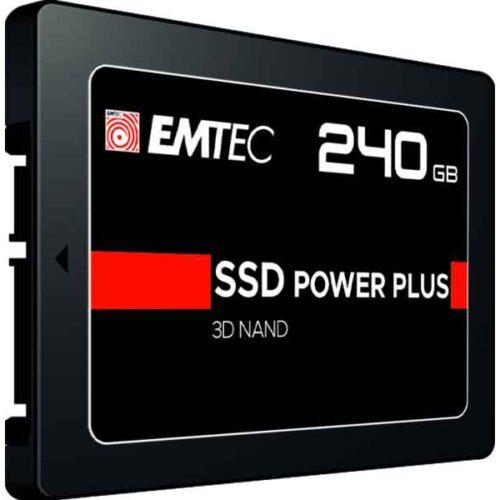 Emtec Internal SSD X150 240GB 3D NAND 2,5 SATA III 500MB