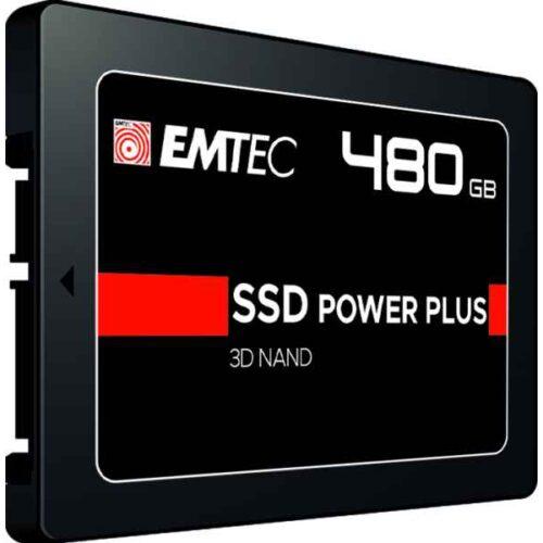 Emtec Internal SSD X150 480GB 3D NAND 2,5 SATA III 500MB