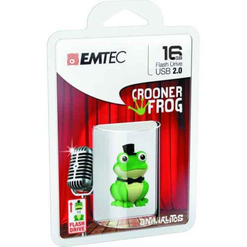 Emtec USB 2.0 M339 16GB Crooner Frog (ECMMD16GM339)