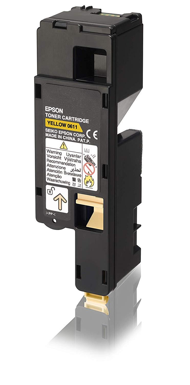 Epson High Capacity Toner Cartridge Yellow 1.4k C13S050611
