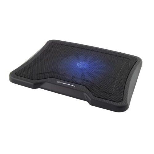 """Esperanza Cooling Pad  For laptop έως 15.6"""" μαύρο EA143"""