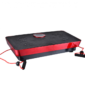 Fitness Body Magnetic Therapy Vibration Plate + Music 73cm (Black-Red)