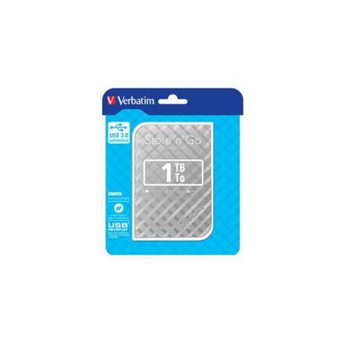 HDD 6,35cm (2.5) USB3 1TB Verbatim Store n Go GEN2 silver 53197